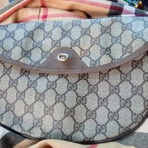 Vintage Gucci euro style foldover clutch pouch